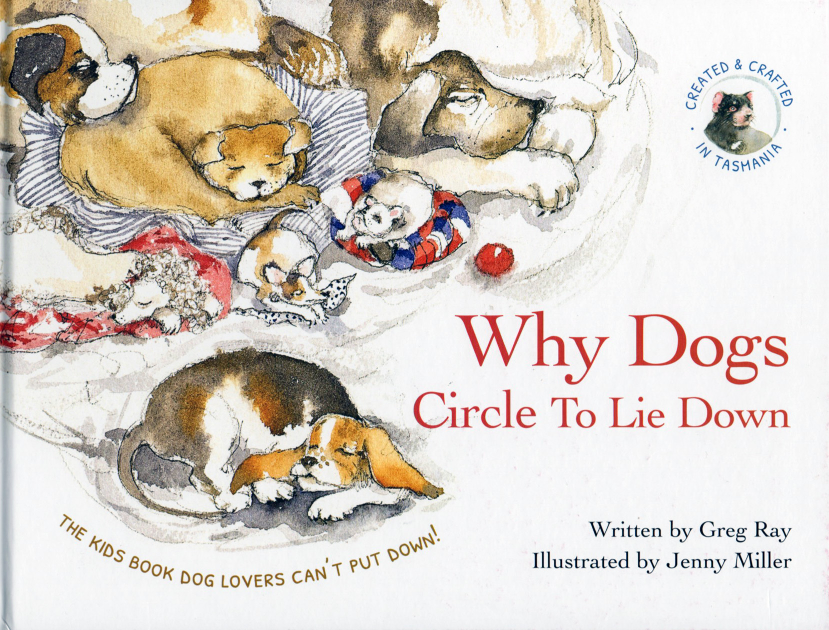 Why Dogs Circle to Lie Down