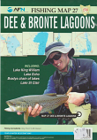 Fishing Map # 27 Dee & Bronte Lagoons