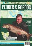 Fishing Map # 36 Pedder & Gordon including Derwent & Huon catchments