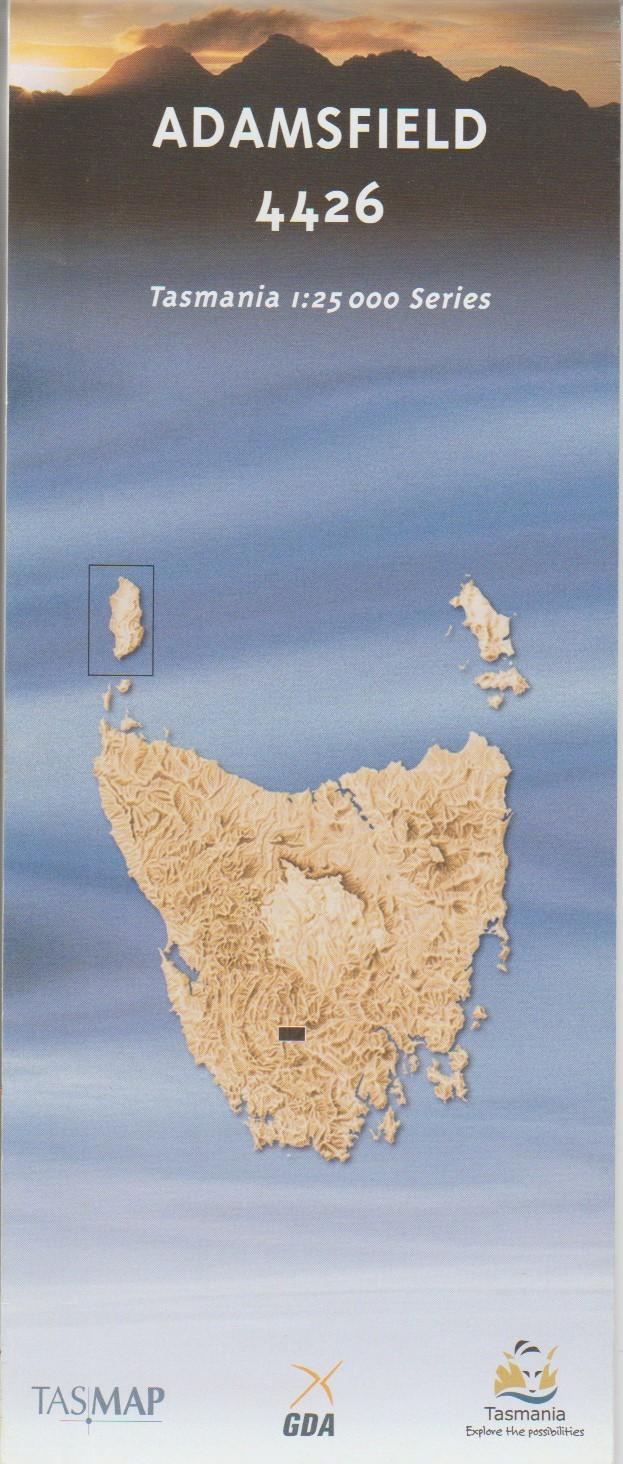 TASMAP Adamsfield map