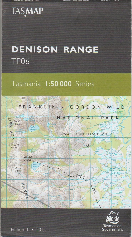 Tasmap Denison Range