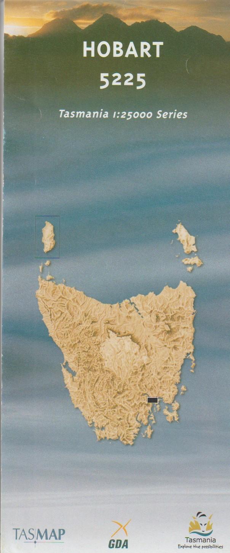 TASMAP Hobart map