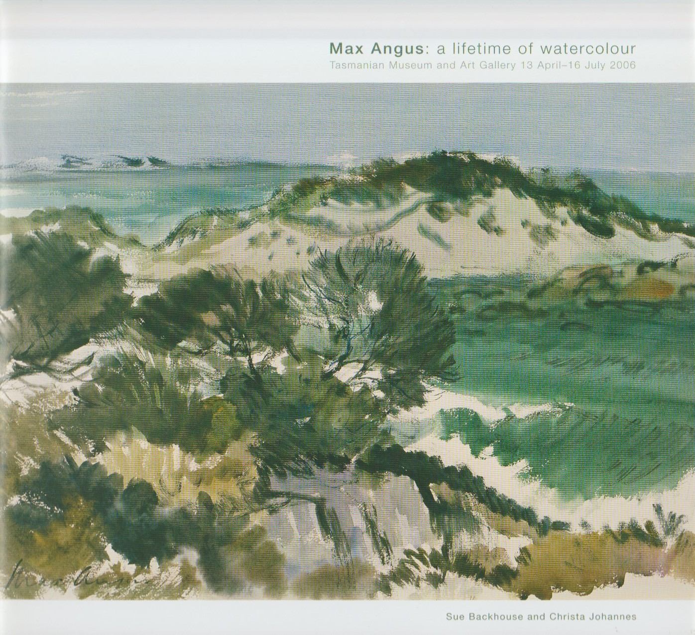 Max Angus - a lifetime of watercolour