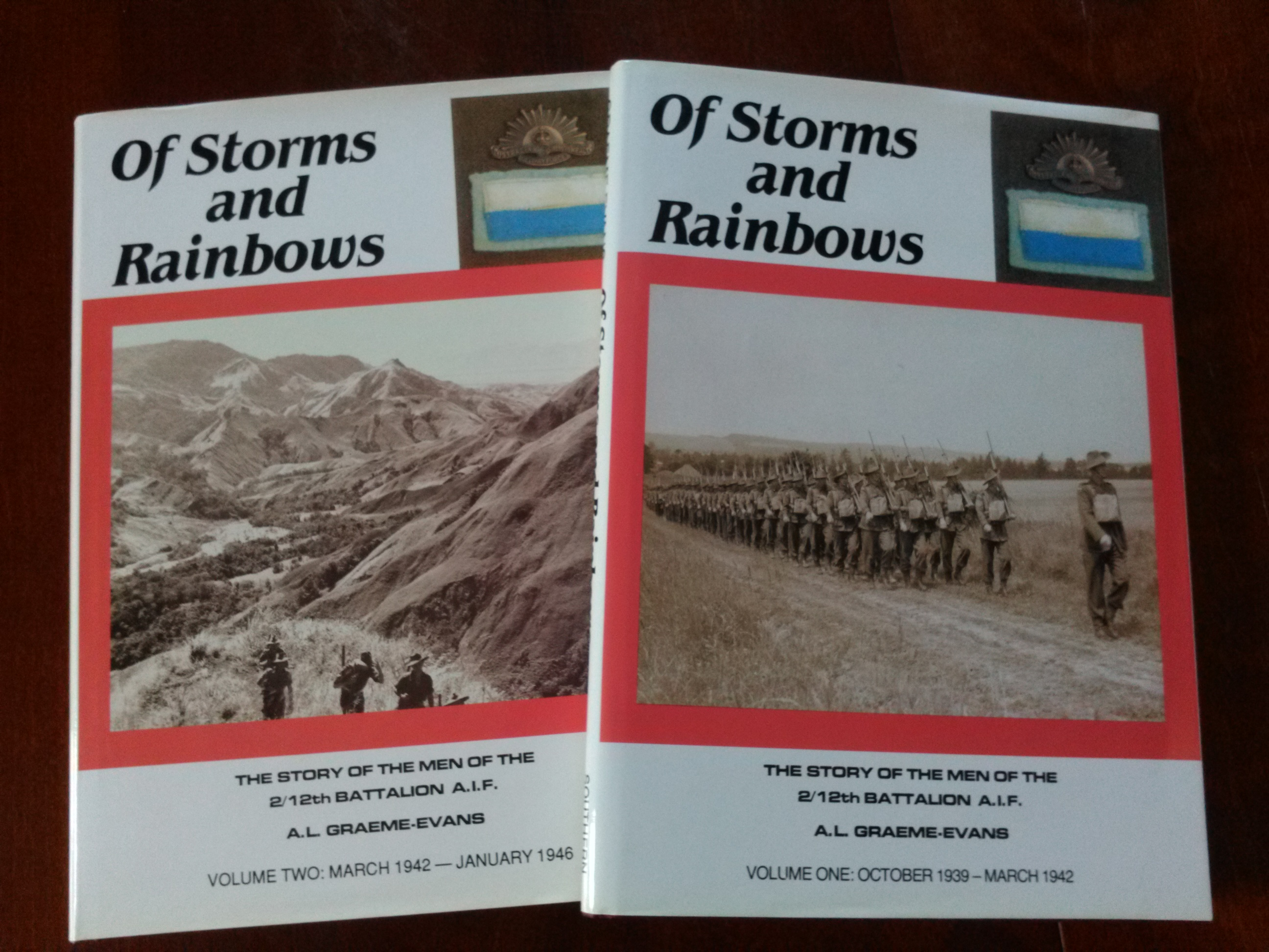 Of Storms and Rainbows - 2/12th Battalion AIF
