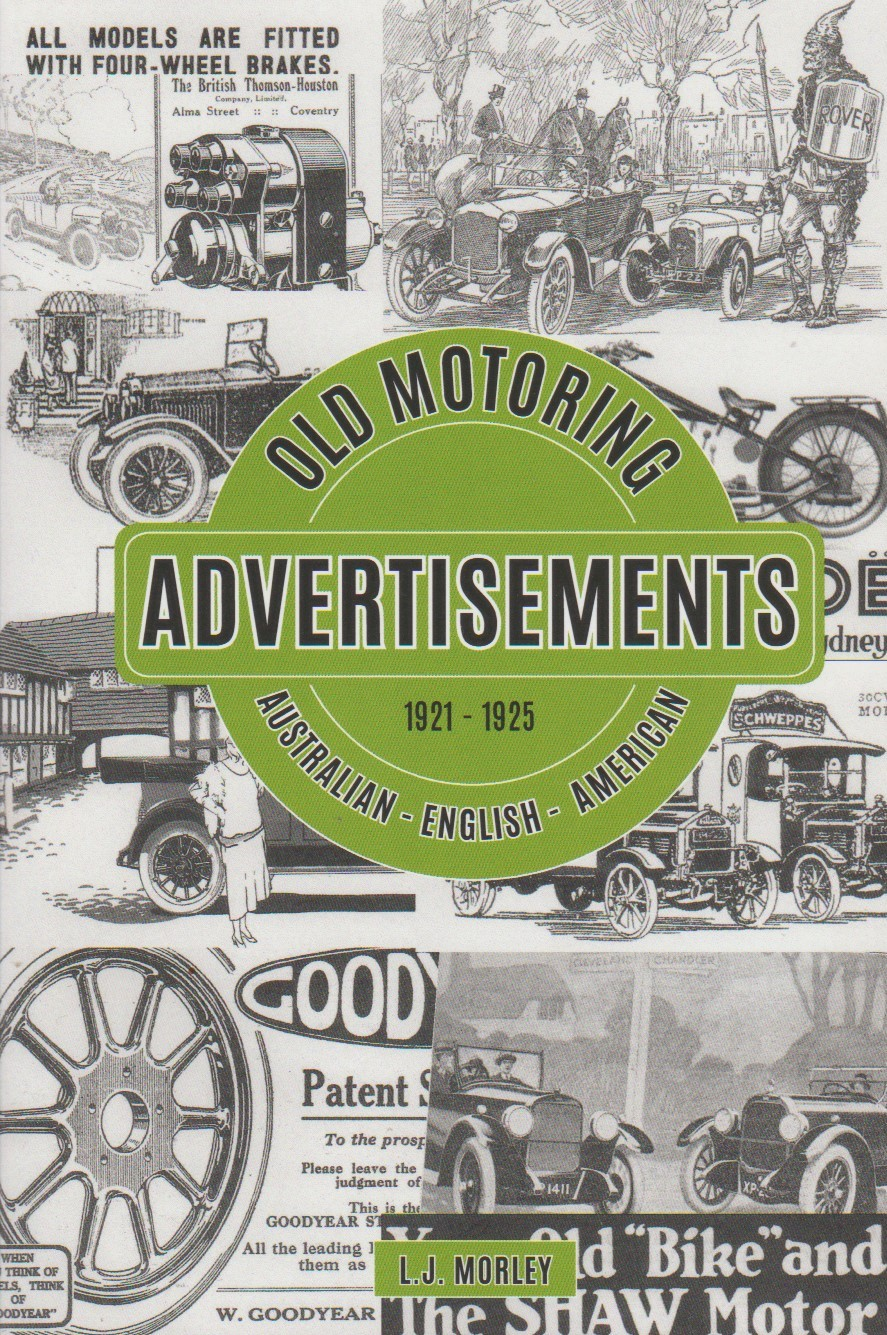 Old Motoring Advertisements 1921-1925 Part 2