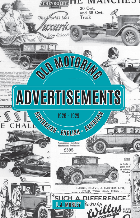 Old Motoring Advertisements 1926 - 1929 Part 3