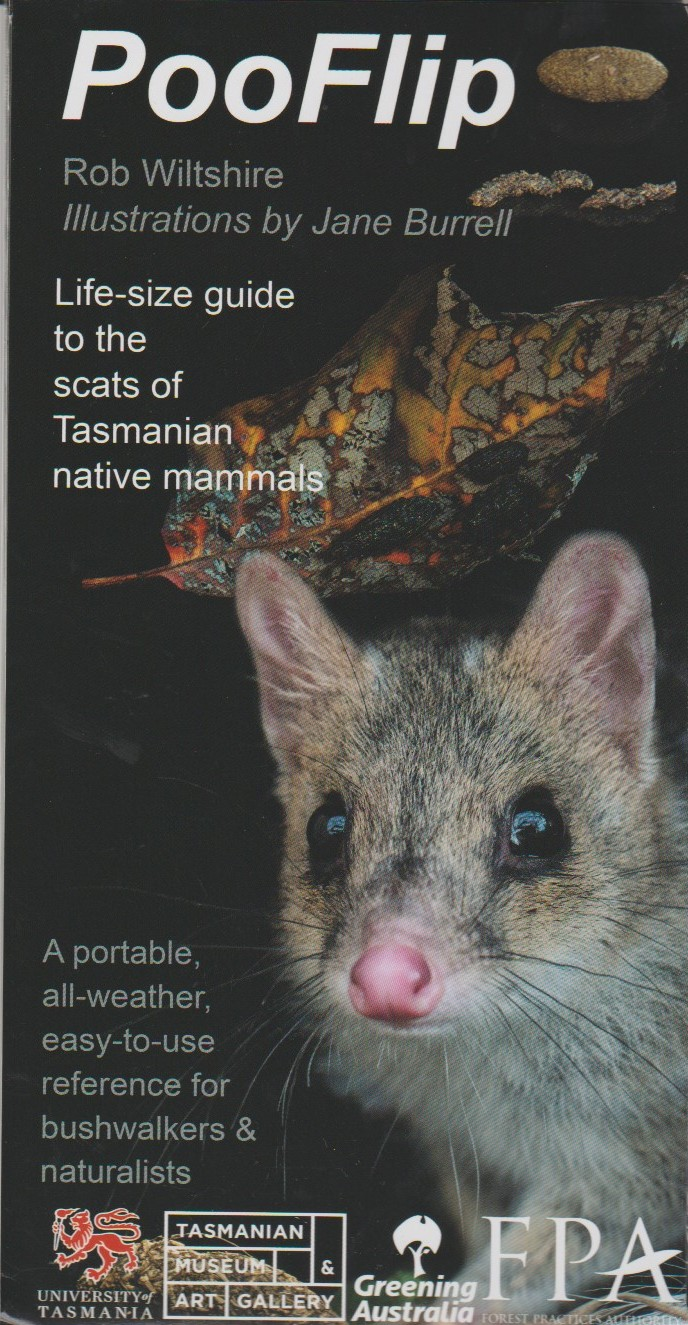 PooFlip - life-size guide to the scats of Tasmanian native mammals