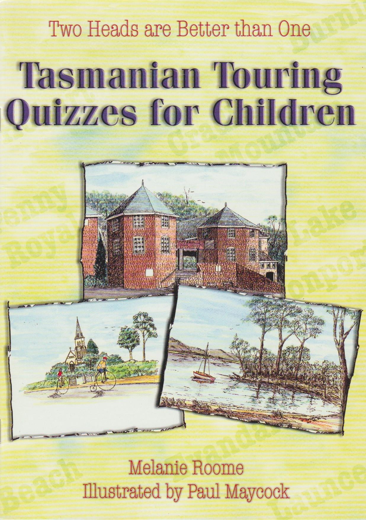 Tasmanian Touring Quizzes for Children