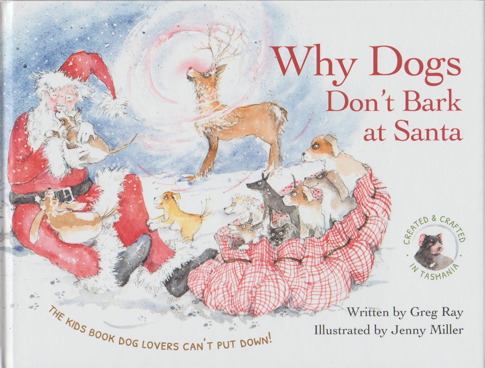 Why Dogs Don't Bark at Santa