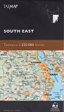 Tasmap Tasmania South East 1:250 000 map