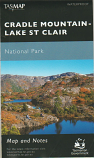Tasmap Cradle Mountain Lake St Clair waterproof map