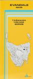 TASMAP Evandale map