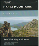 TASMAP Hartz Mountains day walk map and notes