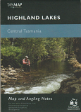 TASMAP Highland Lakes Map and Angling Notes