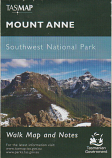 TASMAP Mount Anne walk map and notes