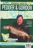 Fishing Map # 36 Pedder & Gordon including Derwent & Huon catchments